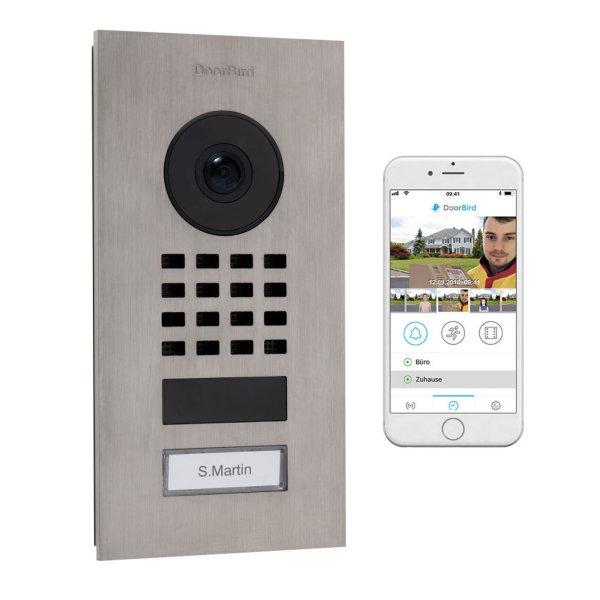 DoorBird IP Video Türstation D1101V WLAN...